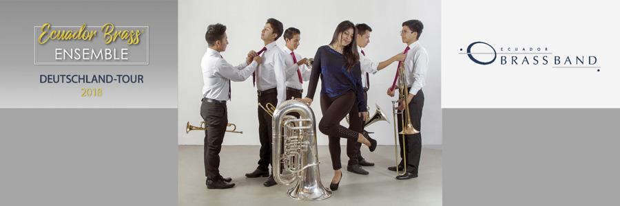 Brass Band del Ecuador auf Schloss Senden