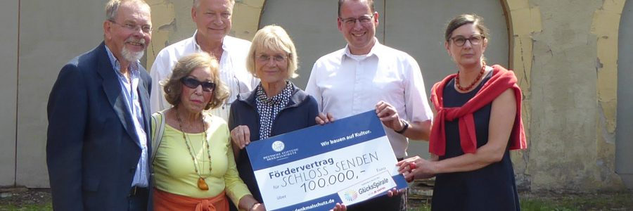 DSD fördert das Herrenhaus mit 100.000 Euro