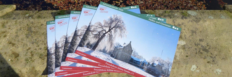 Schloss-Adventskalender 2020 ab sofort erhältlich