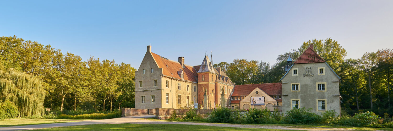 Schloss Senden auf Spendenportalen vertreten