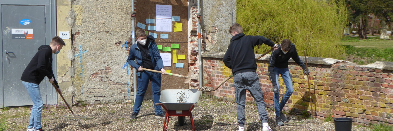 Berufsorientierung auf Schloss Senden